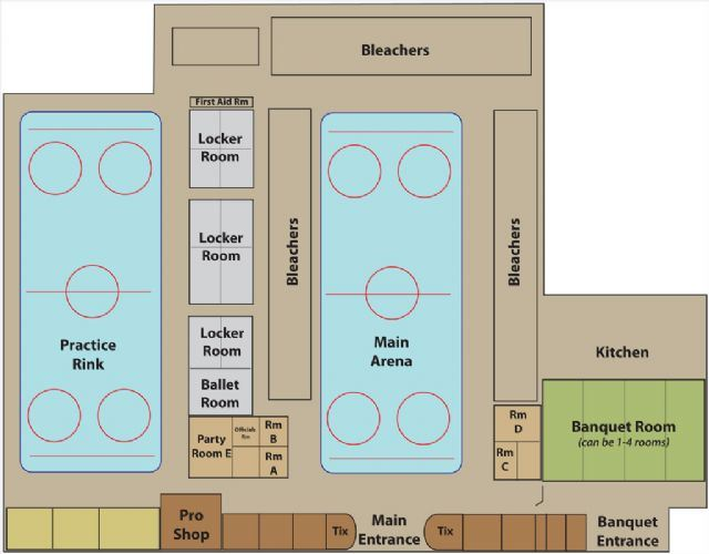 Building diagram from Pelham Civic Complex